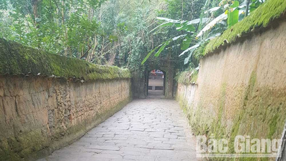 In 2021, Bac Giang supports restoration of 48 historical and cultural relic sites