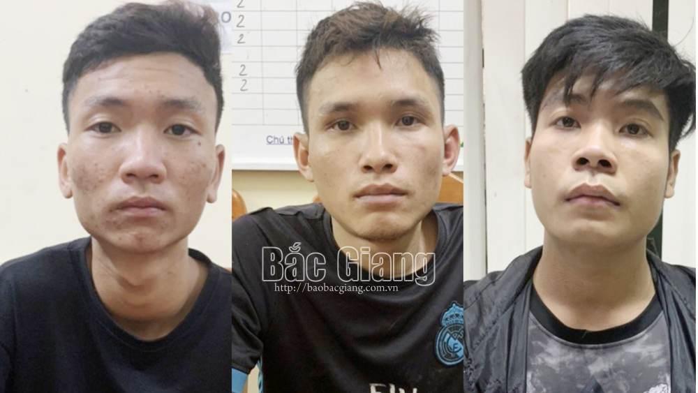 Bắc Giang: Tạm giữ 3 đối tượng ban đêm chặn xe, cướp tài sản của công nhân