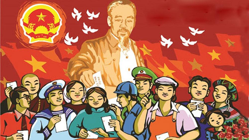 Yên Dũng: Được bầu 35 đại biểu HĐND huyện ở 9 đơn vị bầu cử