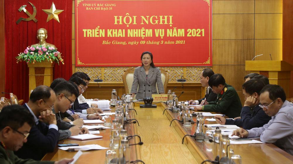 Bắc Giang:  Tăng cường công tác phối hợp, tuyên truyền bảo vệ nền tảng tư tưởng của Đảng