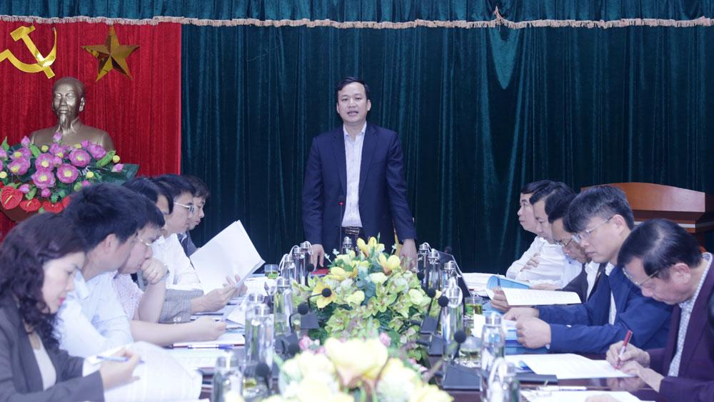 Phó Chủ tịch UBND tỉnh Lê Ô Pích: Hoàn thành hồ sơ đề nghị công nhận huyện NTM Yên Dũng trong tháng 4/2021