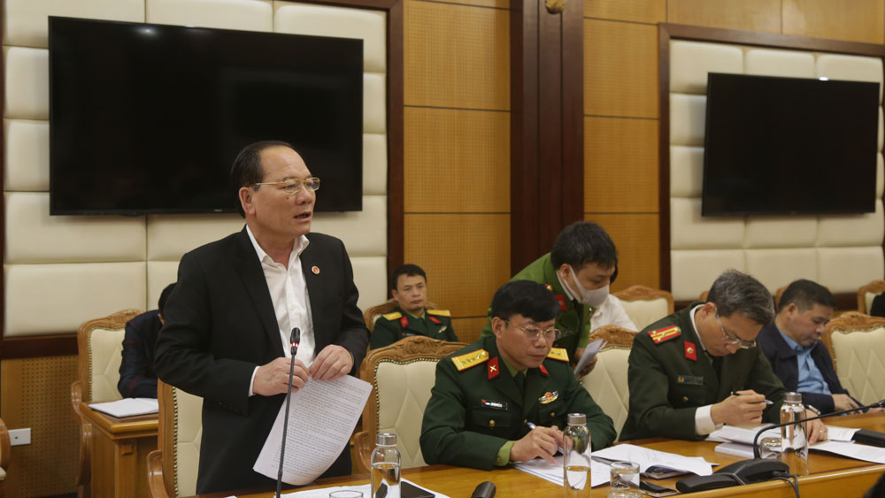 Bắc GIang, tăng cường, bảo vệ, nền tảng tư tưởng của Đảng