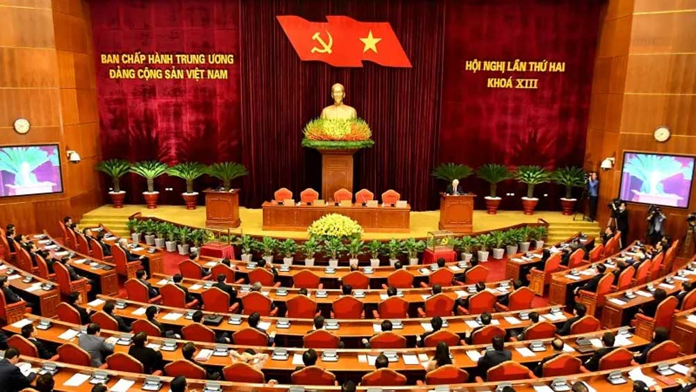 Announcement , 13th Party Central Committee's second plenum