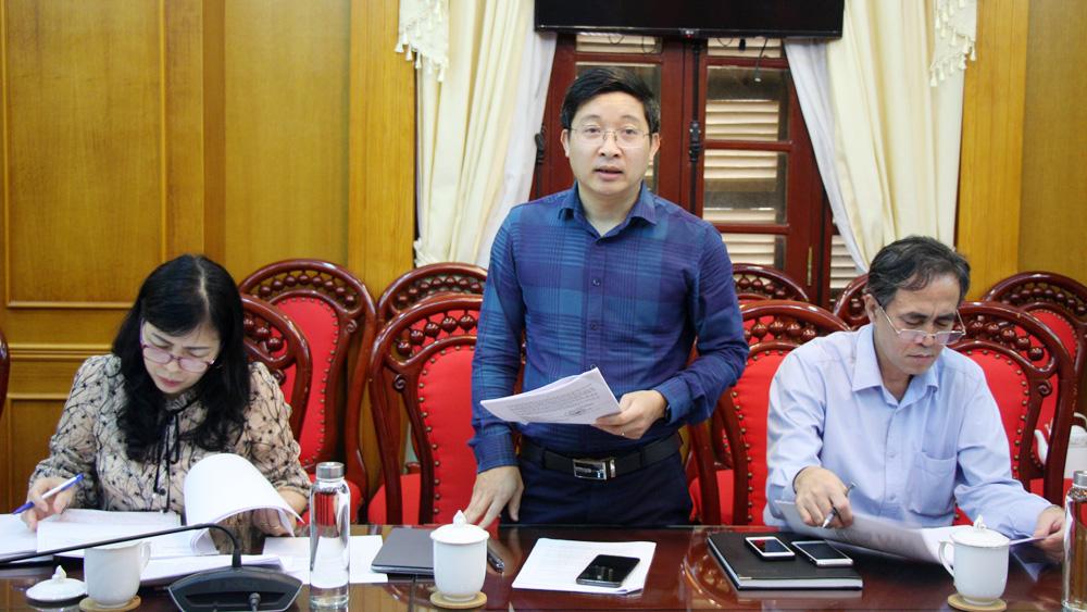 Bắc Giang, HĐND tỉnh, thẩm tra, Ban Kinh tế- Ngân sách, dự thảo nghị quyết