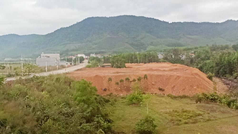Sơn Động: Xử lý chưa nghiêm, vi phạm đất đai tăng
