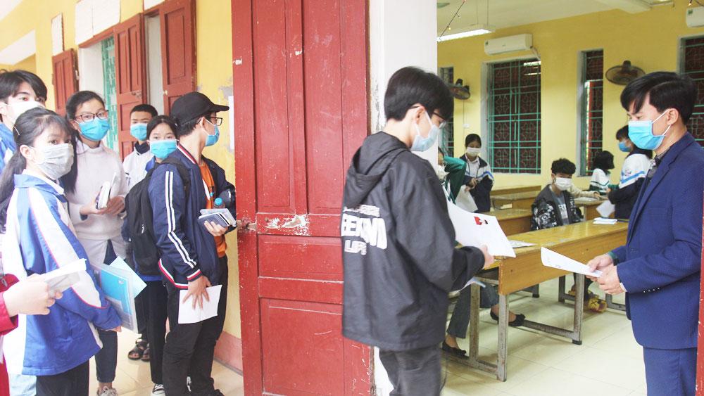 công bố kết quả, thi học sinh giỏi, năm học 2020-2021, Bắc Giang, giáo dục