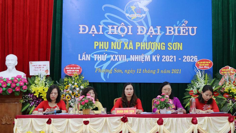 Lục Ngạn: Đại hội điểm Hội LHPN cấp xã