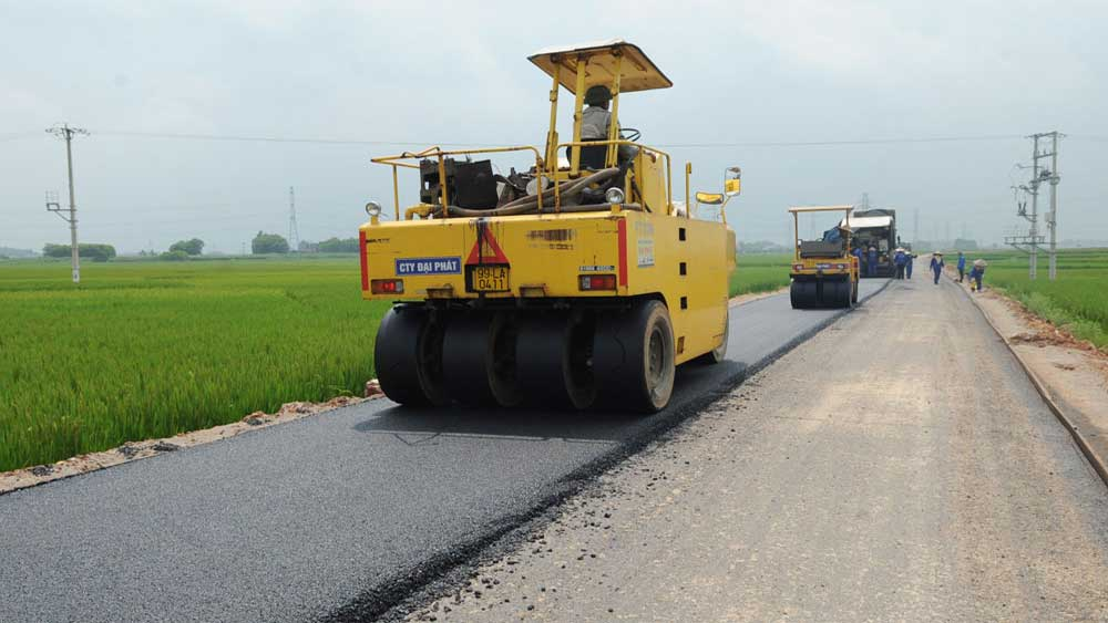 Bac Giang builds road connecting National Road 37 with Ring Road 4