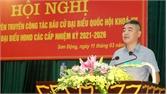 Bồi dưỡng kỹ năng tuyên truyền về công tác bầu cử cho cán bộ cơ sở huyện Sơn Động