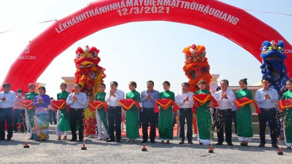 First solar power plant in Mekong Delta inaugurated