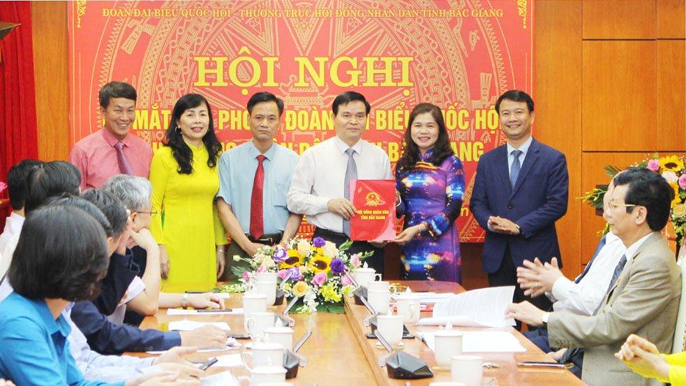 Bắc Giang: Ra mắt Văn phòng Đoàn ĐBQH và HĐND tỉnh