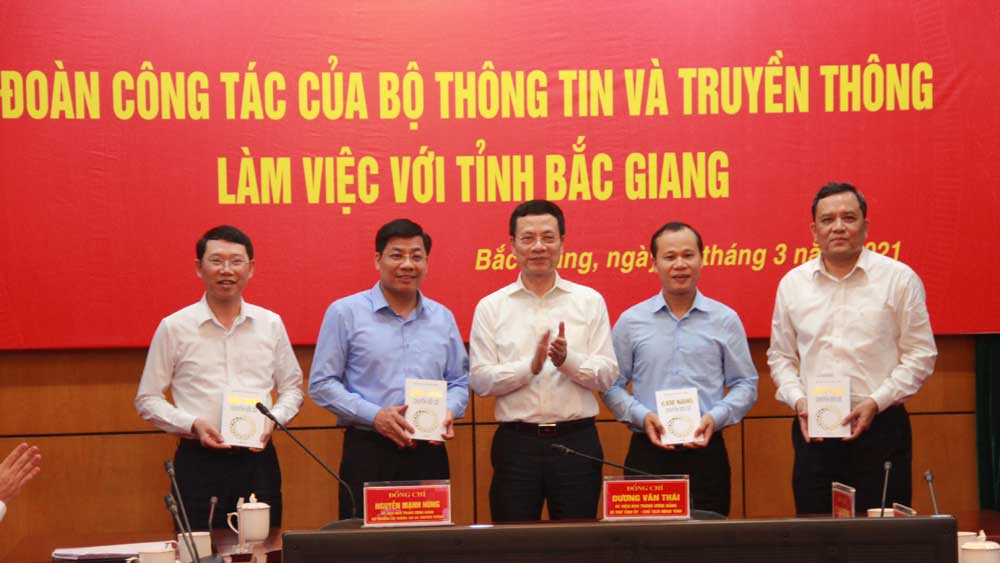 Creating advantages for Bac Giang to make breakthroughs in digital transformation: Minister