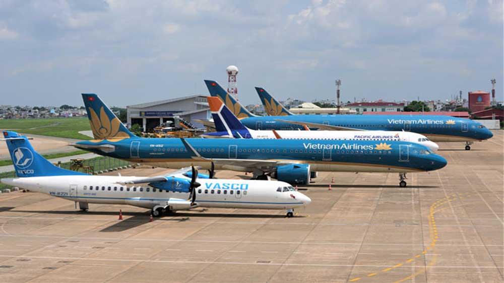 Hàng không đồng loạt tăng chuyến trên các đường bay nội địa