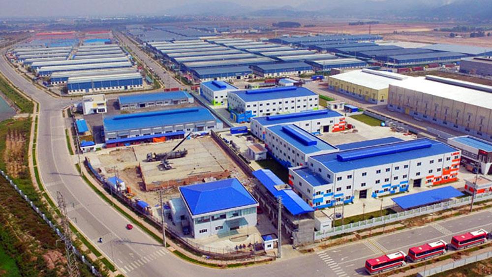 Khu công nghiệp Vân Trung, Bắc Giang. Ảnh Việt Hưng.