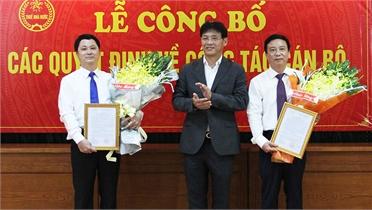 Công bố quyết định bổ nhiệm Phó Cục trưởng Cục Thuế tỉnh Bắc Giang
