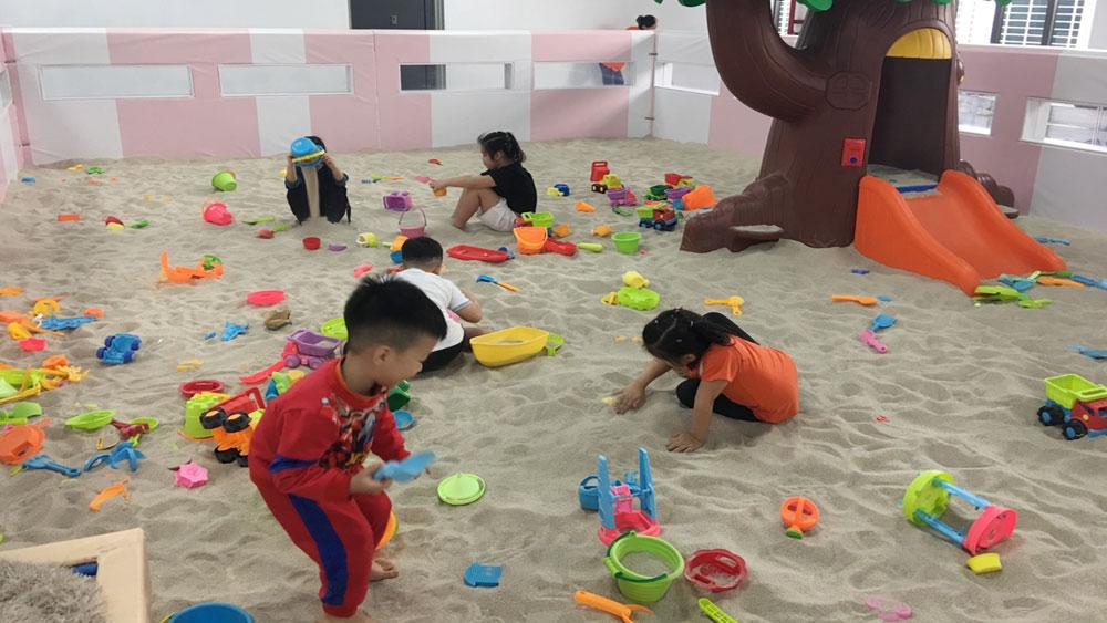 Khu vui chơi dành cho trẻ em: Tiềm ẩn nguy cơ mất an toàn
