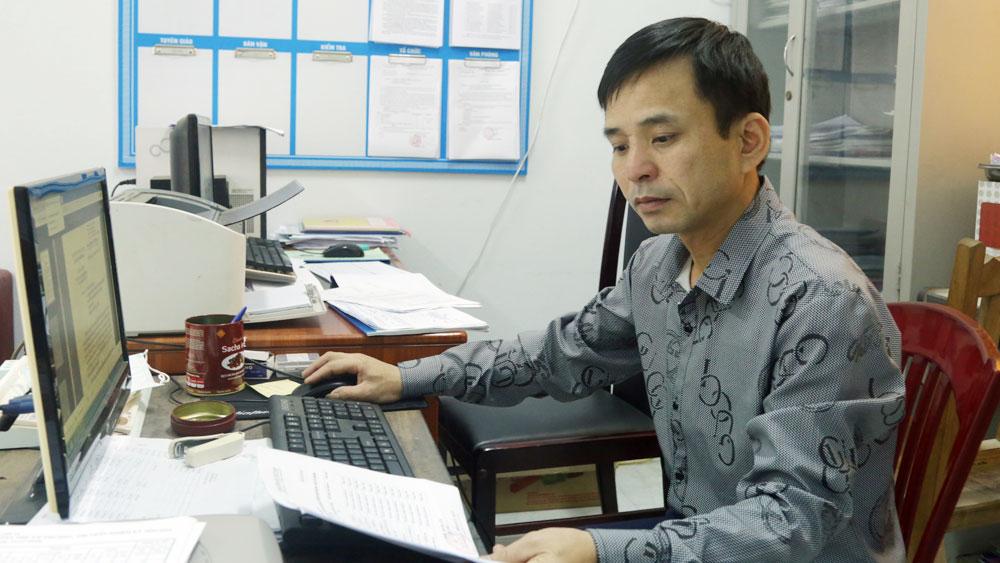 Bắc Giang, cán bộ, công chức, văn phòng đảng ủy, văn phòng cấp ủy