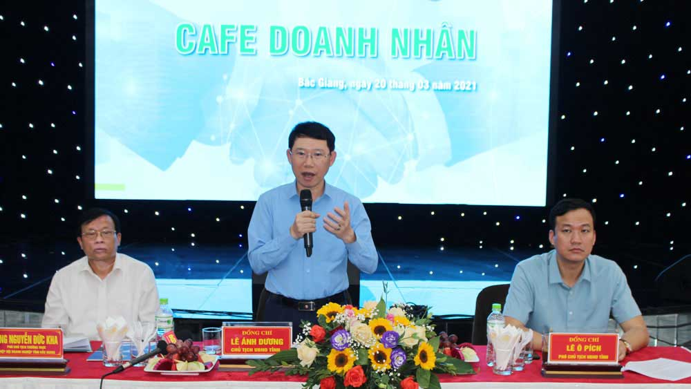 Business Cafe programme, many proposals on land, infrastructure development