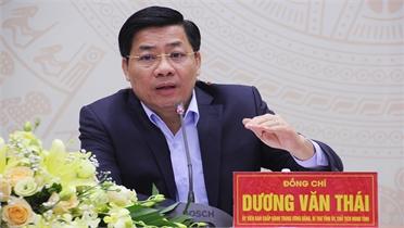 Bí thư Tỉnh ủy Dương Văn Thái: Dư địa cho thanh niên khởi nghiệp rất lớn, nhất là trong nông nghiệp