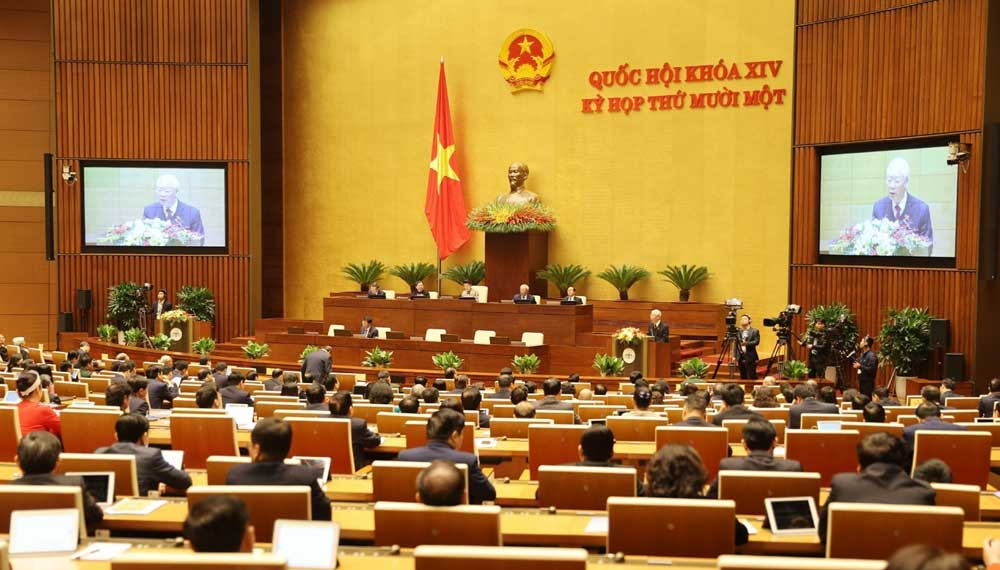 14th National Assembly's 11th,  the NA's television channel, Radio The Voice of Vietnam