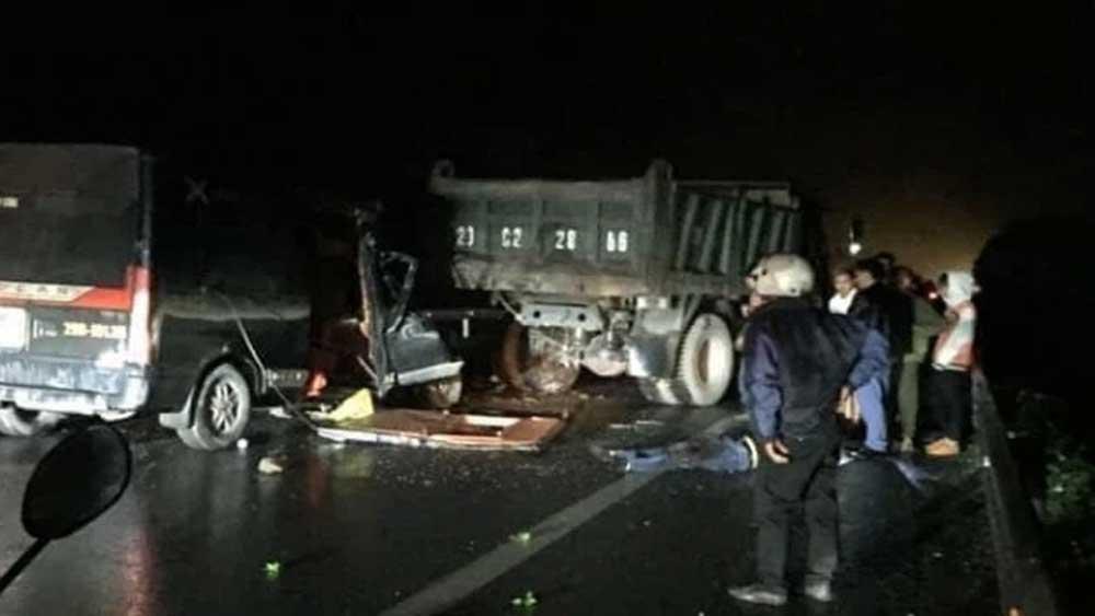 Tai nạn giao thông làm 3 người chết, 2 người bị thương tại Thái Nguyên