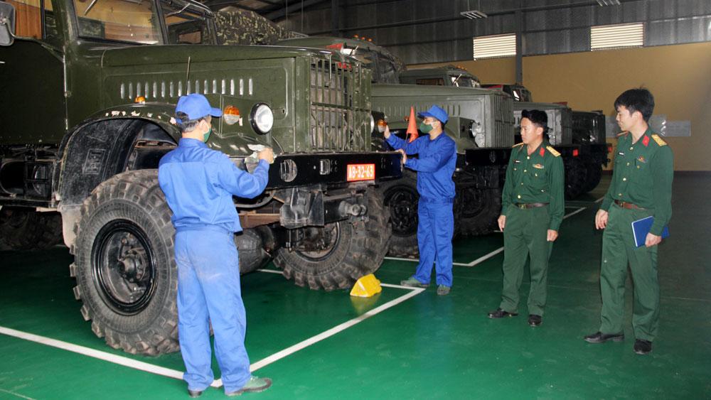 Nhân 70 năm Ngày truyền thống ngành Xe-máy quân đội 28/3 (1951-2021): Lên đường là an toàn, hoàn thành tốt nhiệm vụ