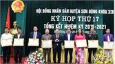 Sơn Động: 16 tập thể, cá nhân có thành tích xuất sắc trong công tác HĐND được khen thưởng