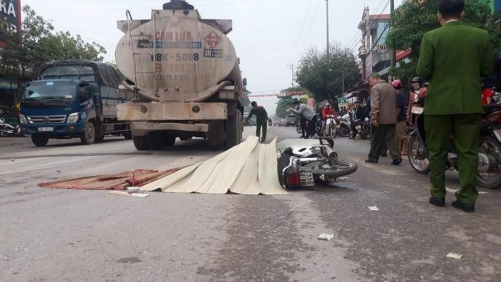 Bắc Giang: Một người tử vong tại chỗ do tai nạn giao thông