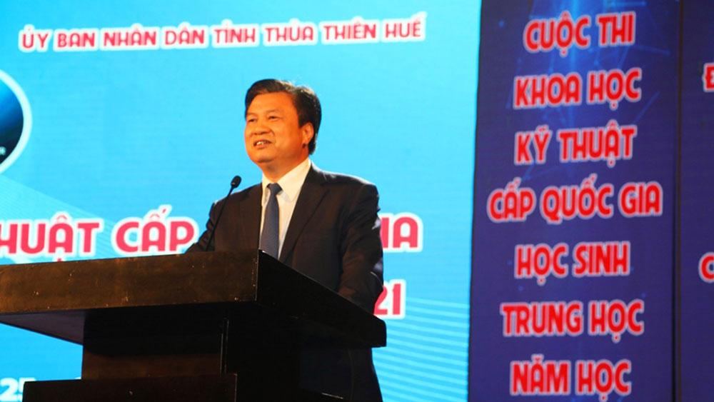 Cuộc thi Khoa học kỹ thuật cấp quốc gia; Bộ Giáo dục và Đào tạo, tỉnh Thừa Thiên-Huế, 12 giải Nhất