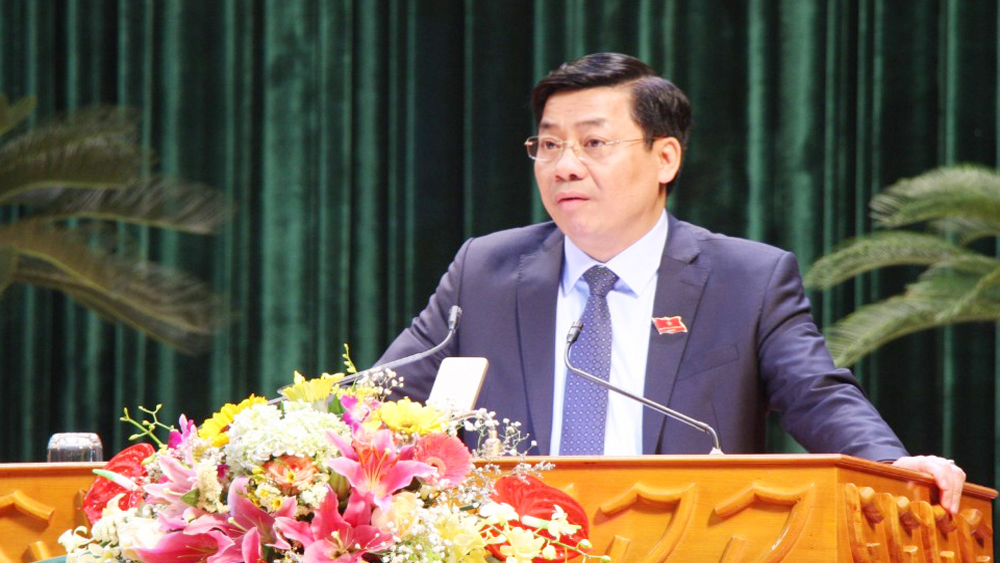 Phát biểu khai mạc Kỳ họp thứ 13, HĐND tỉnh khóa XVIII