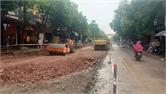 Yên Dũng: Cải tạo, nâng cấp đường Lê Đức Trung xong trong tháng 5 tới