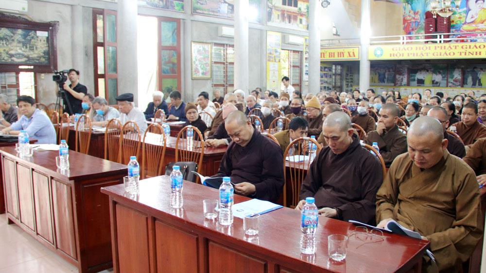 Bắc Giang: Tuyên truyền công tác bầu cử cho tăng ni, trụ trì