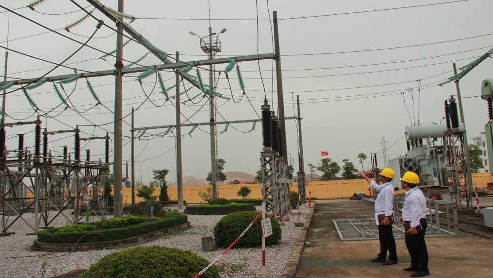Bac Giang increases capacity of Dinh Tram 110 kV substation, installs Yen Dung substation