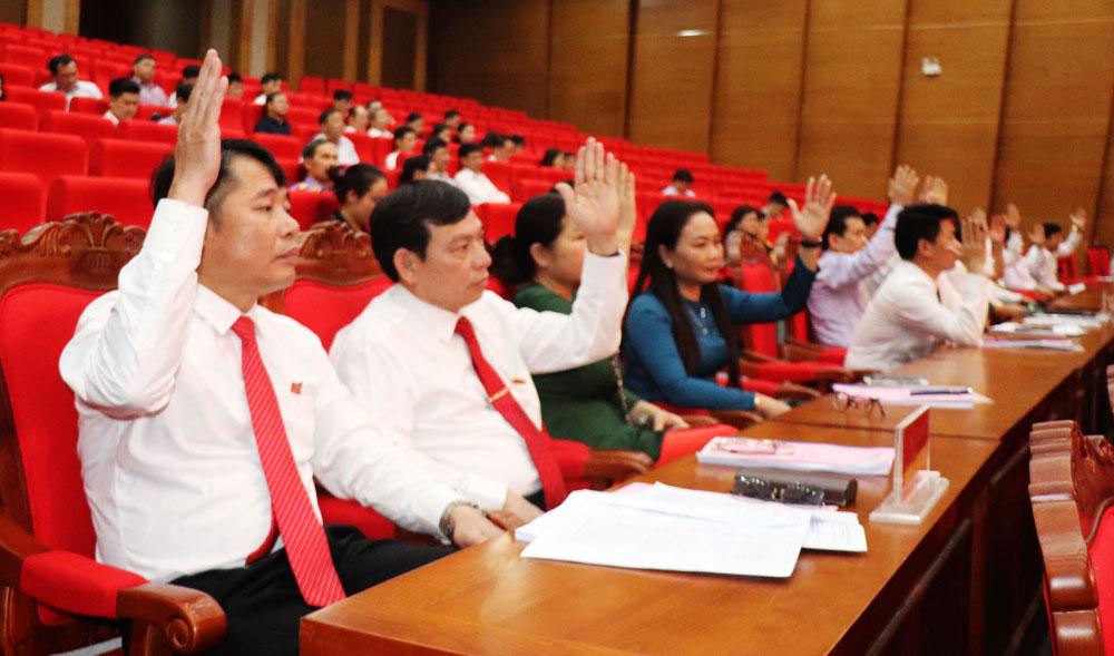 TP Bắc Giang, HĐND thành phố Bắc Giang, Ban Thường vụ Thành ủy Bắc Giang,