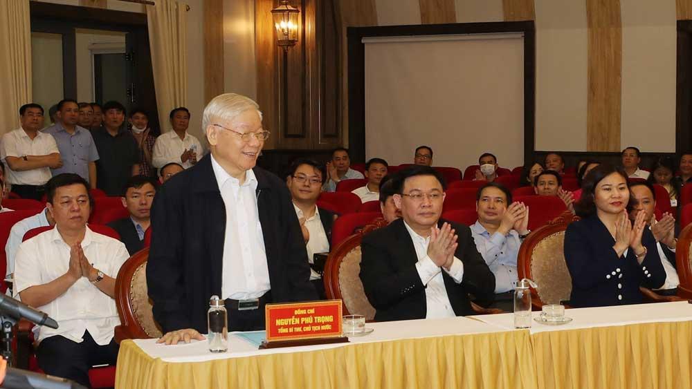 Tổng Bí thư, Chủ tịch nước Nguyễn Phú Trọng:  Quan trọng nhất là sự đồng lòng ủng hộ của nhân dân