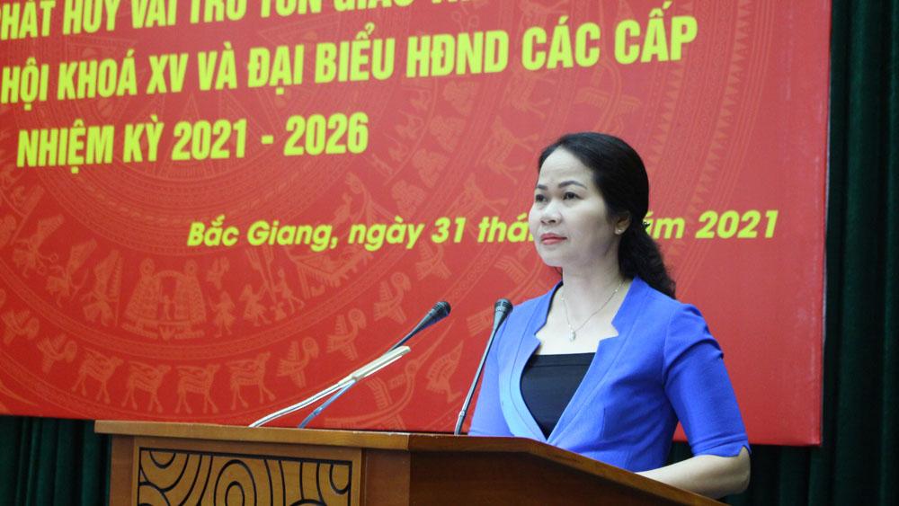 Bắc Giang: Tuyên truyền bầu cử ĐBQH và đại biểu HĐND cho chức việc công giáo