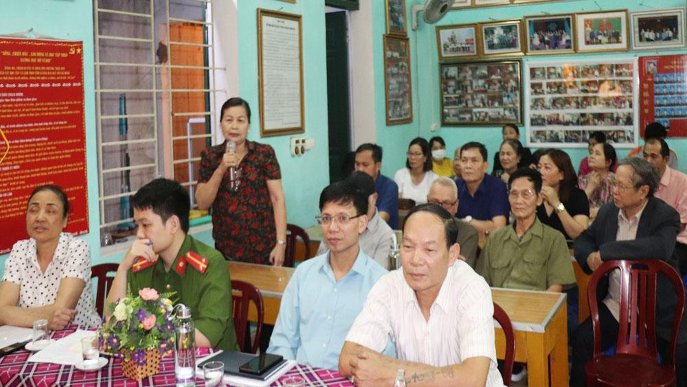 TP Bắc Giang: Thực hiện quy trình bầu cử bảo đảm thời gian, chất lượng