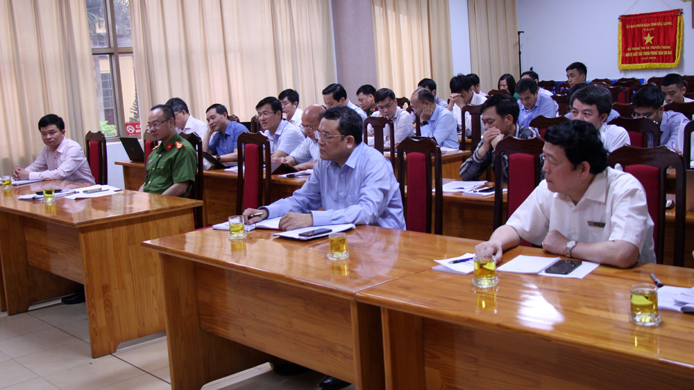 Bac Giang province, officers's capability, Electronic Government, Steering Committee, digital transformation, actual demand,  Local Government Service Platform