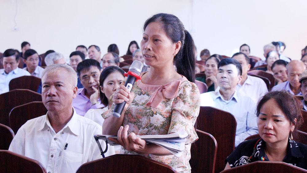 MTTQ tỉnh Bắc Giang, Giải quyết ý kiến cử tri, Tiếp xúc cử tri