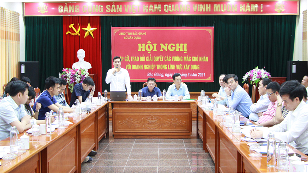 Bac Giang accompanies businesses in implementing housing, residential area projects
