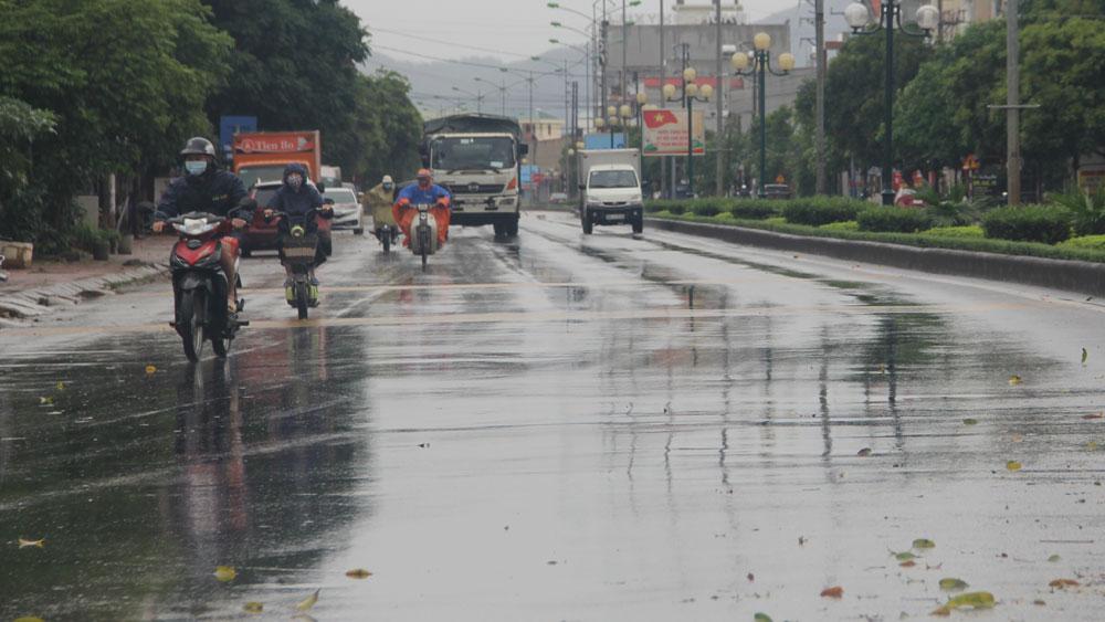 Dự báo thời tiết Bắc Giang ngày 5/4: Mưa rào nhẹ, có nơi có dông
