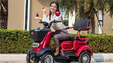 Xe điện Thái Lan dành cho người... không biết đi xe máy