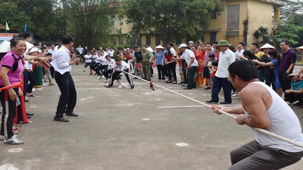 Xã Phúc Sơn, Tân Yên tổ chức Đại hội thể dục thể thao điểm của huyện