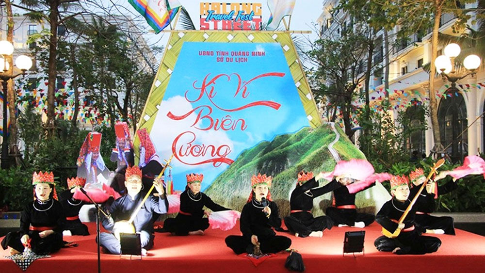 Ha Long street festival, local cultural heritage, ethnic groups, three-day event, domestic tourism, Heritage Spring Festival