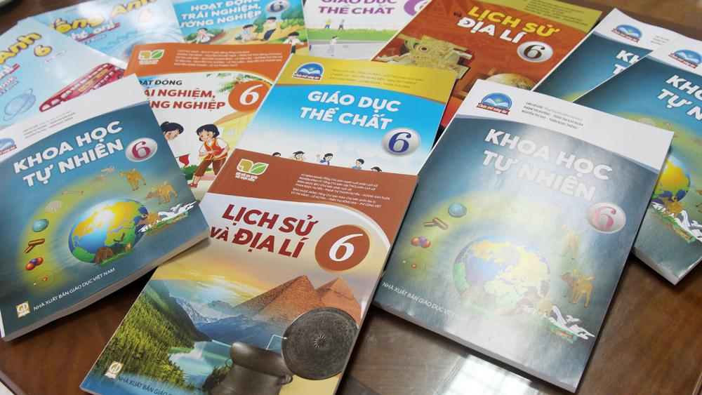 Bắc Giang, chọn sách giáo khoa, năm học 2021-2022