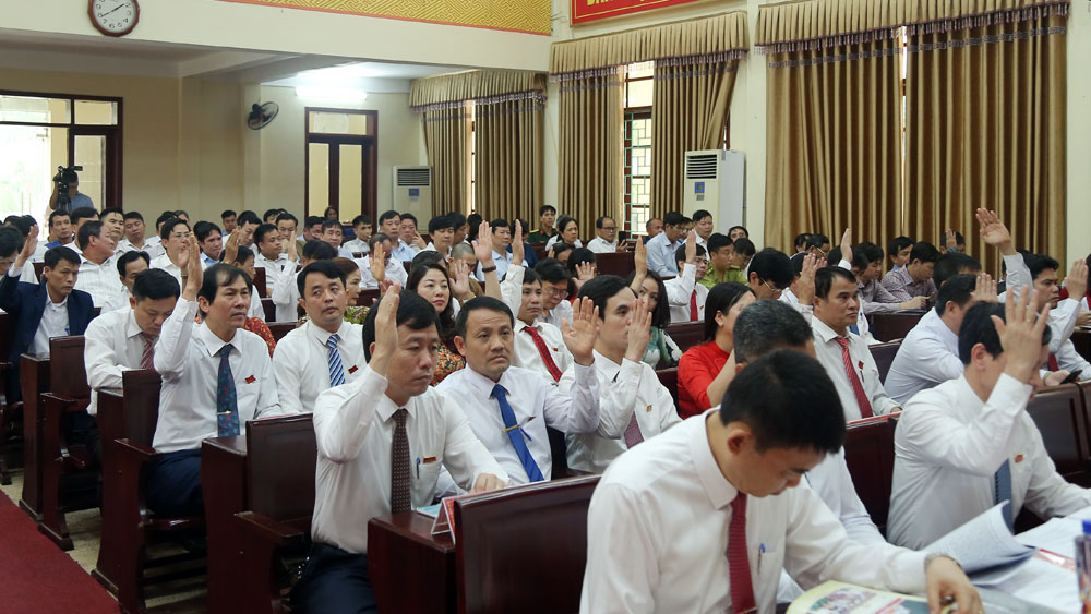 Yên Dũng, HĐND huyện, tổng kết nhiệm kỳ, 5 nghị quyết
