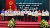 HĐND huyện Yên Dũng thông qua 5 nghị quyết quan trọng, khen thưởng 34 tập thể, cá nhân