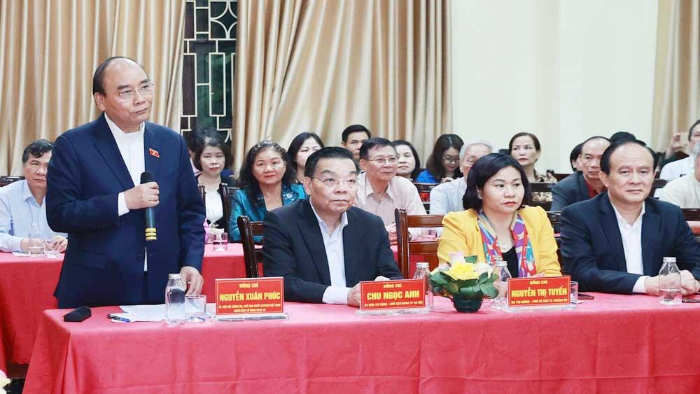 Chủ tịch nước Nguyễn Xuân Phúc, cử tri nơi cư trú, tín nhiệm cao, giới thiệu ứng cử, đại biểu Quốc hội khóa XV