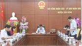 Giám sát công tác bầu cử tại Sơn Động