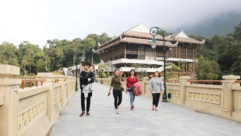 Data digitalization, tourism development, Bac Giang province, Smart tourism development, spearhead economic sector, tourism promotion and development